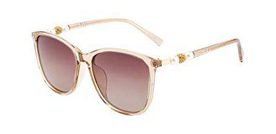 Ted Smith Women Square Sunglass TS-201948_C29 (Size-60 mm)