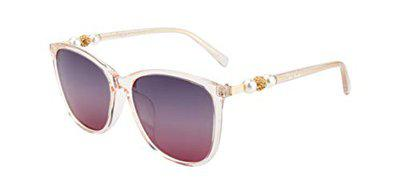Ted Smith Women Square Sunglass TS-201948_C2 (Size-60 mm)