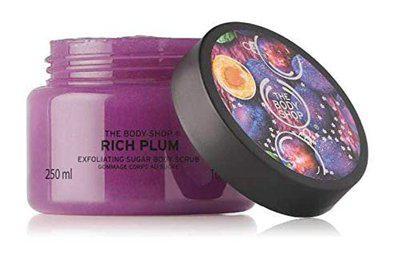 The Body Shop Rich Plum Body Scrub 250 ml