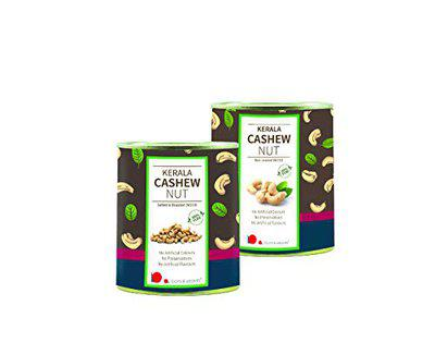 looms & weaves - Kerala Cashews - ( 500 gm Unroasted and 500 gm Roasted & Salted)