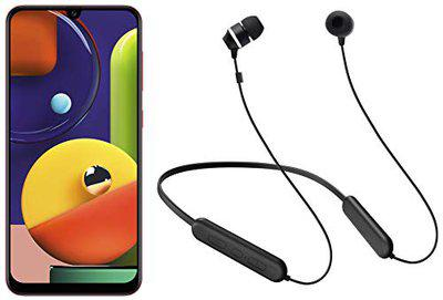 Samsung A70s 8GB Green + Samsung Wireless Earphone with Flexible Neck Band