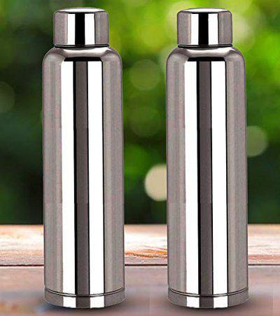 Monet 1000ml Stainless Steel Single Wall Water Bottle Buy 1 Get 1 Free