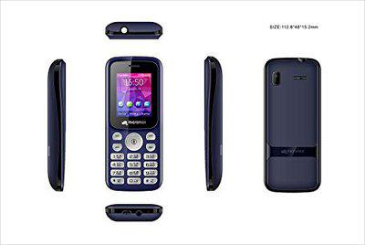 Micromax X378 Blue Power Torch Blink on Call BT Calling Functionality 800mAh