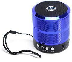 Kohinoor WS-887 In Metal Quality Wireless Bluetooth Speakers Hi Quality Sound/Hands Free Calls/Rechargeable Battery/USB/AUX/SD/TF Card Slot Compatible with Android, iOS & Windows Devices (Random Color)