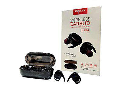 Sonilex Bluetooth True Wireless Airdots (Independent Earphones Compatible with All Smartphones)