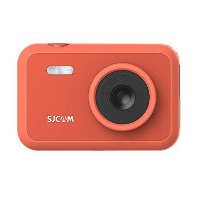 SJCAM FunCam 2 LCD Kids HD Digital Action Camera with in-Built Games for Children & Adult Kids (Red)