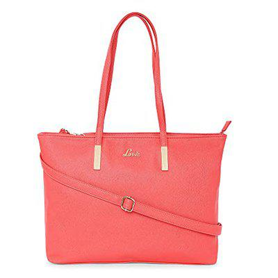 Lavie Bianca Med Hz Tote- Ladies Handbag Coral
