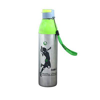FABLE Hot & Cold Insulated Water Bottle Cool Nexa Steel 100% Leak Proof (Green, 900Ml)