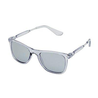 VAST UV Protected Transparent Rectangle Mirror Unisex Sunglasses (2148 / TRANPARENT GREY)