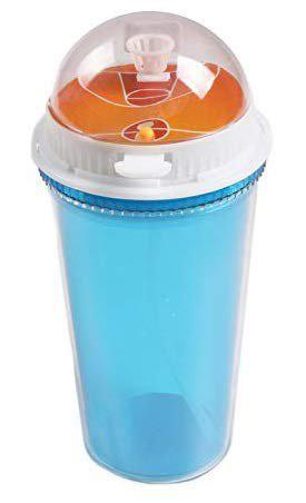 Dynore Basketball Sipper Cup Bottle with Photo