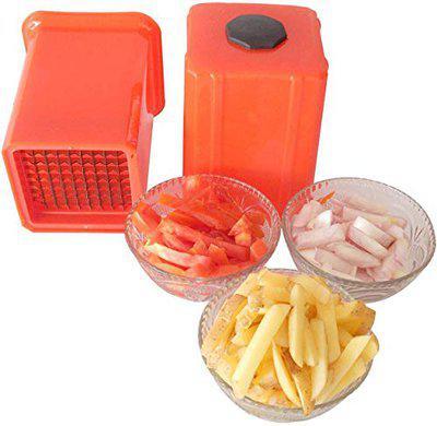 INVOSS Potato Vegetable Finger Chips Cutter - Potato Chipser - Dicer Chopper - French Fries Maker