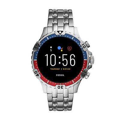 Fossil Garrett Hr Smartwatch Digital Black Dial Men's Watch-FTW4040