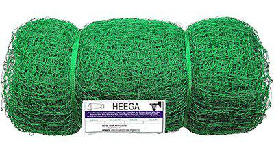 Heega TM 100 * 10-2 mm Thickness Cricket net with roof interconnected (UV Protection Coating on net)