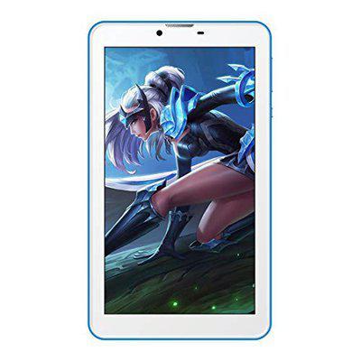 IKALL N2 Tablet with Stand 7 Inch Display 512MB Ram 4GB Internal Storage Dual Sim 2MP Camera Blue