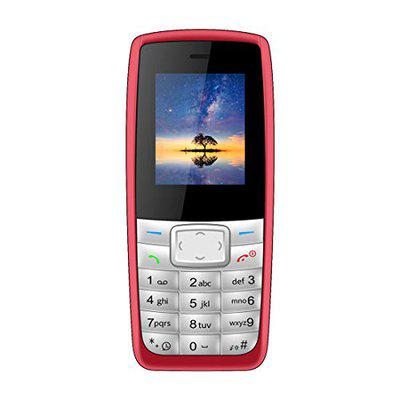 I Kall K72 with 1.8 Inch Colour Display Multimedia Phone Without Camera - Red