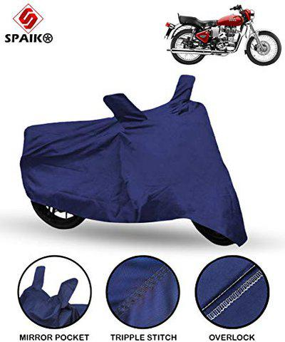 Spaiko Bike Body Cover for Royal Enfield Electra 350 (Blue)