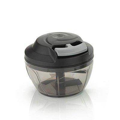 VR Smart Quick Handy Multi Purpose Vegetable Cutter Chopper (500 ML, Black)