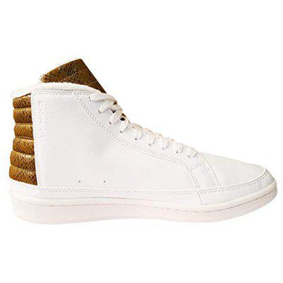 Li-Ning Basketball Culture Professional Basketball Shoes, Milk White/Gold Brown - 11 US