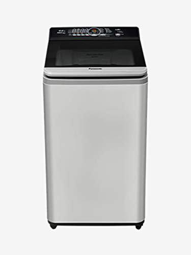 Panasonic 7.2 kg Fully-Automatic Top Loading Washing Machine (NA-F72AH8MRB, Middle Free Silver Gray)