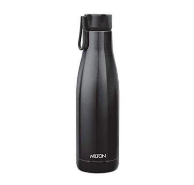 Tuski Milton Fame 1000 Stainless Steel Water Bottle, 891ml, Black