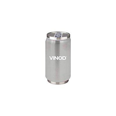 Vinod Genext Bottle THUNDER, 300 ml (1 pcs) Valentines Day Gift ,Steel Hot and Cold Sipper, Perfect for Travelling (Silver)