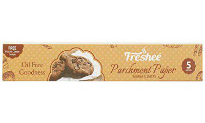 Freshee 5 Meter Parchment Paper Roll Pack of 6, Baking Paper, Food Wrap, Butter Paper, Baking Wrap, Microwave Safe Cooking Paper