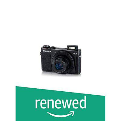 (Renewed) CANON Power Shot G9X Mark II with 16 GB Card and CASE