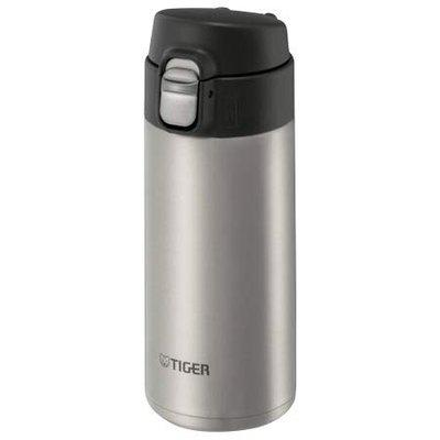 TIGER MMJ-A481 Vacuum Insulated Stainless Steel Bottle HOT/Cold (Clear Stainless)