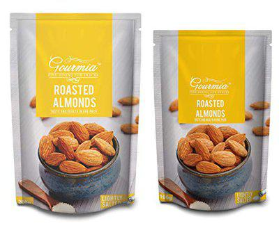Gourmia Roasted Almonds Lightly Salted 200g + 100g (300g)