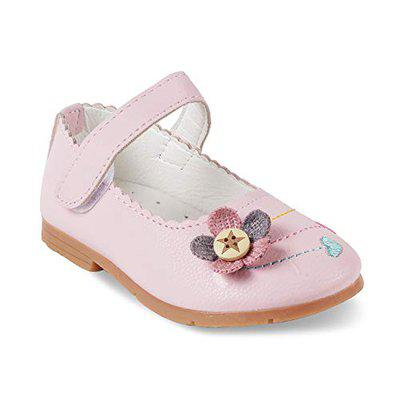 KITTENS Girls Synthetic Pink Mary Jane Shoes