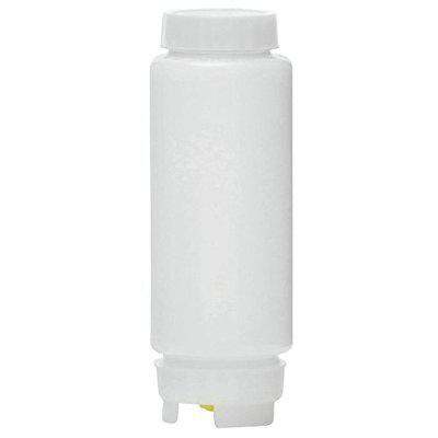 Andrew James Single FIFO Food Grade Plastic Sauce Squeeze Bottle Clear Color Capacity: 650ml- One Piece