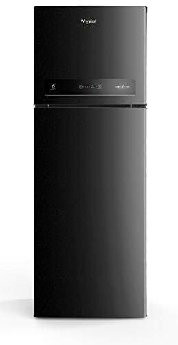 Whirlpool 265 L 3 Star Inverter Frost-Free Double Door Refrigerator (INTELLIFRESH INV CNV 278 3S, Black Sparkle, Convertible)