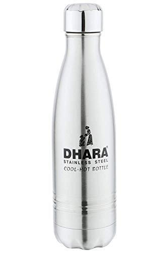 Dhara Stainless Steel Cool - Hot Bottle Cum flask-500 ml-