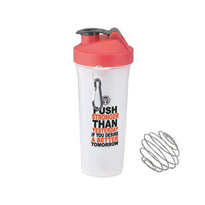 FABLE Spider Shaker Bottle, 100% Leak Proof Guarantee, Ideal for Protein, Pre Workout,900ML (RED)