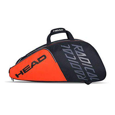 HEAD Radical 12R Monstercombi Tennis Bag (Orange/Grey)