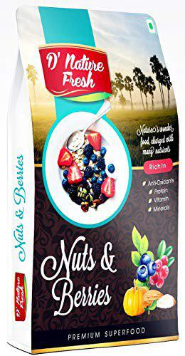 D'nature Fresh Nuts and Berries, 250 g