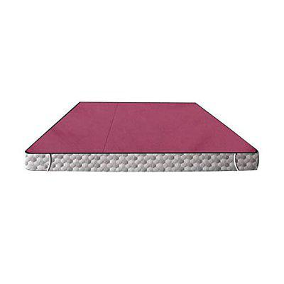 Stylista Waterproof Bedsheet/Mattress Protector Size WxL 72x78 Inches DoubleBed/King Size Polyester Magenta