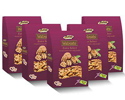 Tulsi Walnut Kernels Extra Select 200g (Pack of 5) 1000g