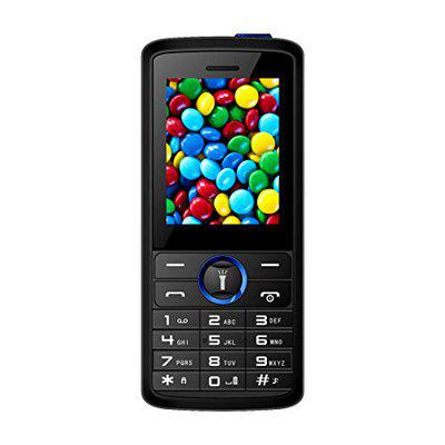 I Kall K51 Multimedia Mobile with 1.8 Inch Display; Camera; 800 mAh Battery (Blue)