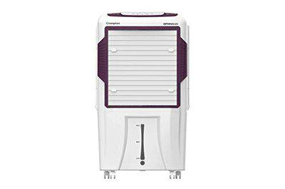Crompton Optimus 65i Smart 65-litres Desert Cooler with Remote Control(White and Black)