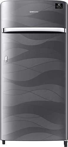 Samsung 198 L 4 Star Inverter Direct-Cool Single Door Refrigerator (RR21T2G2XNV/HL, Inox Wave)