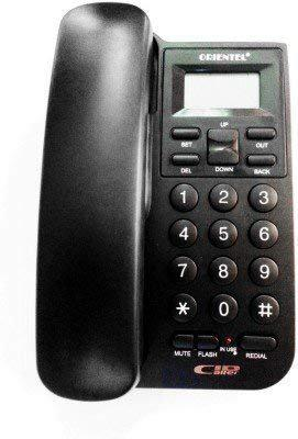 Lemish Landline Corded Caller Id KX-T1555CID Phone Telephone for Office and Home Use (Black)