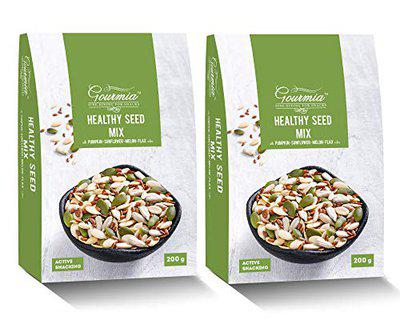 Gourmia Healthy Seeds Trail Mix 200g (Pack of 2), x 400 g