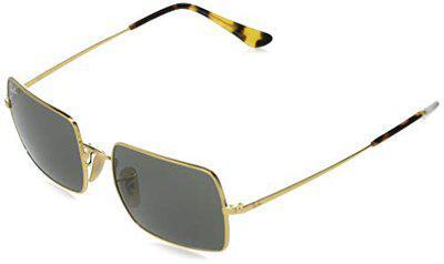 Ray-Ban UV Protected Rectangular Unisex Sunglasses - (0RB19699150B154 53 Grey Color Lens)