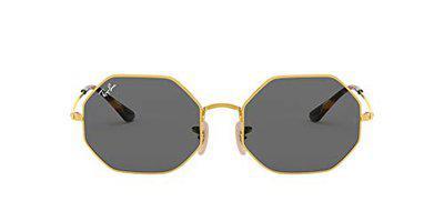 Ray-Ban UV Protected Rectangular Unisex Sunglasses - (0RB19729150B154 53 Grey Color Lens)