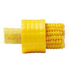Argos Plastic Corn Kernel Peeler Cutter - Color May Vary