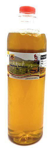 99Auth No Mixing Adulteration Free 1L Pure Original Cold Pressed Sesame/Til/Gingelly Oil.No Mixing . Zero Adulteration   Buy 2 Get 1 Free   