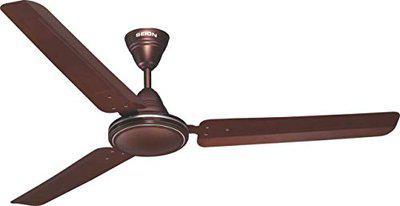 Seion Ceiling Fan Bullet 1200 MM Metallic Brown