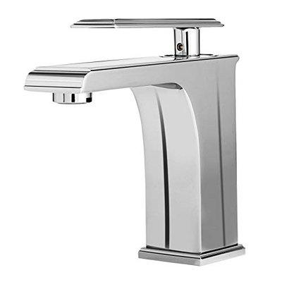 Acasa CLEO Mixer Tap for Bathroom Wash Basin (L3236, Brass Body, Chrome Finish and 2 Inlet Hoses)