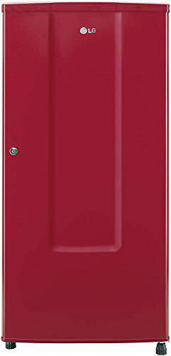 LG 185 L 2 Star Direct-Cool Single Door Refrigerator (GL-B181RPRC, Peppy Red, Fastest Ice Making)
